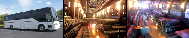 Hire Tampa Party Bus