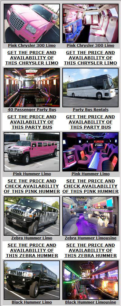 tampa Party Bus