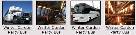 winter garden Party buses